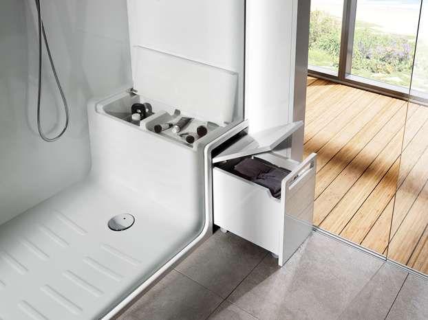 Vano doccia Hide & Seat di Roca | Leonardo.tv