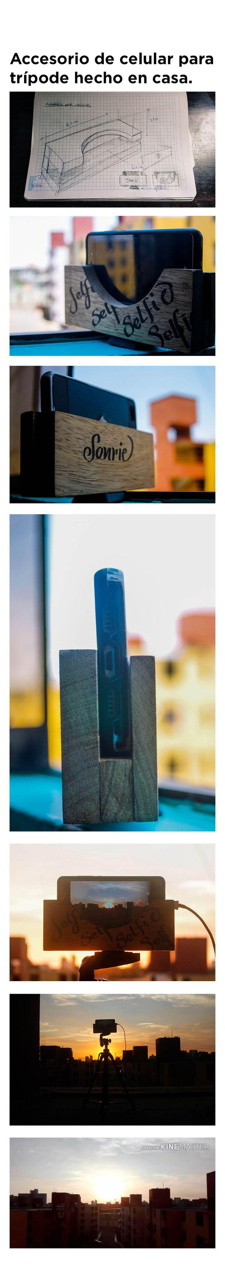 Un accesorio de celular pensado para el trípode . Grabar en cámara rápida y fotografiar momentos especiales.