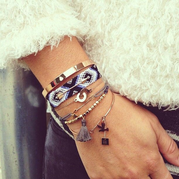 Bracelet bague tendance