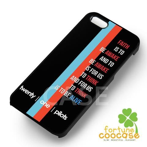 Twenty One Pilots Lyric -EnLs for iPhone 7+,iPhone 7,iPhone 6S/6S+,iPhone 6/6+,iPhone 5/5S/5SE,iPhone 5C,iPhone 4/4S cases and Samsung Galaxy cases