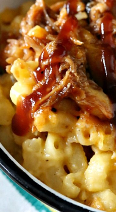 Pulled Pork Mac and Cheese (Piggy Mac)