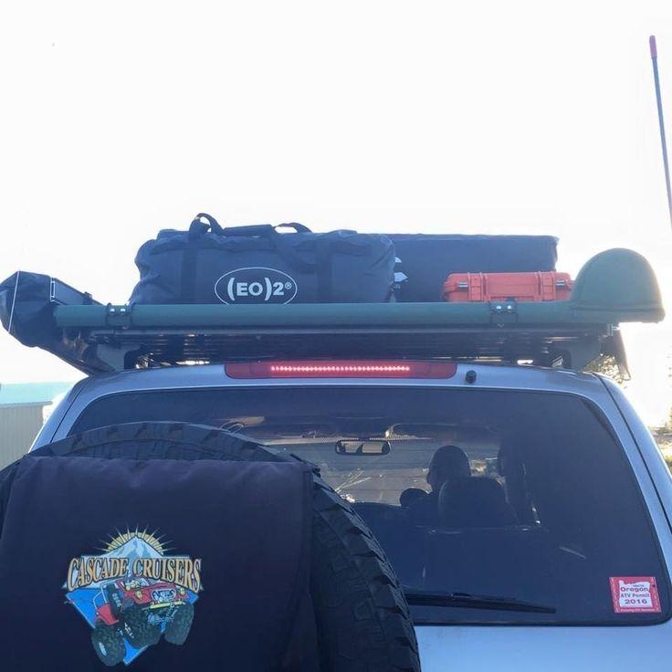 8 best campervan gear images on pinterest camper van for Fishing rod roof rack tube
