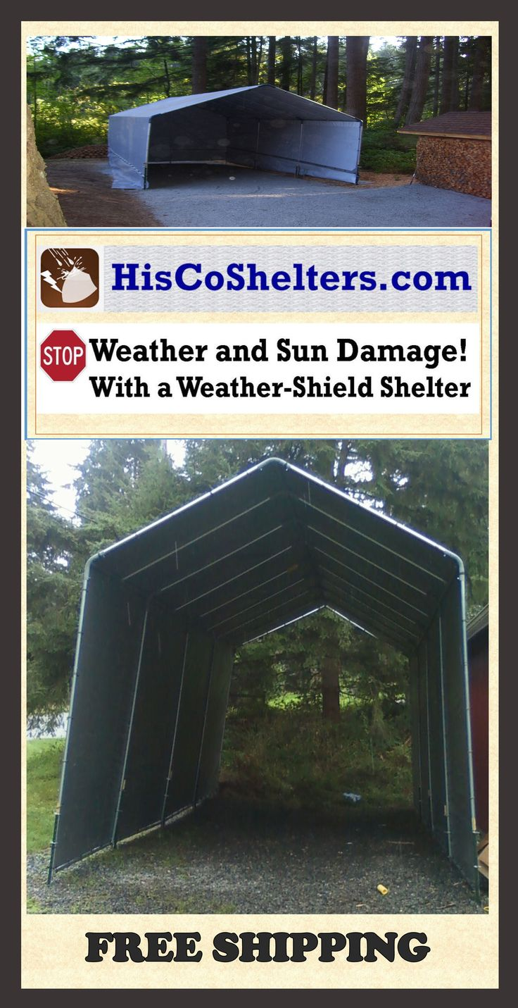 12 Best Shelter Logic Portable Garage Images On Pinterest