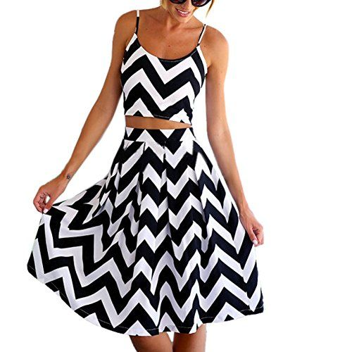 ipretty Sexy Damen Sommerkleid Damen strandkleider damen Kleid Rock Partykleid Cocktaikleid