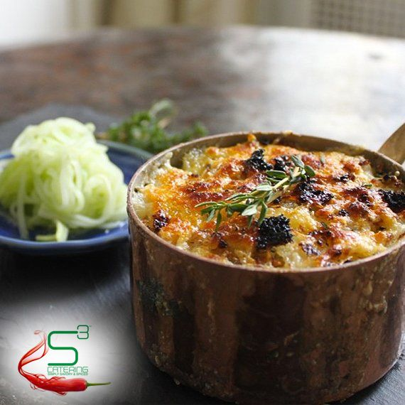 Masala au Gratin by S3 Catering #s3catering