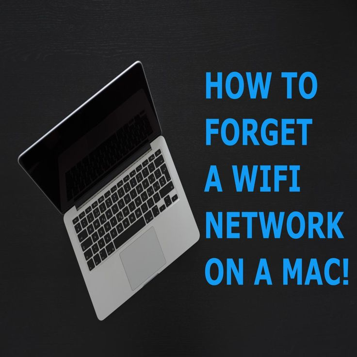 It's not obvious how to forget a WiFi network on a Mac but it's very handy to know how so that you don't accidentally connect to an unsecured public network.  Here's a step-by-step guide.