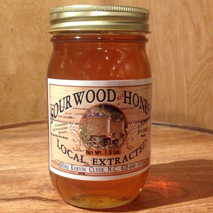 Sourwood Honey from Mountain Favors for $11 on Square Market