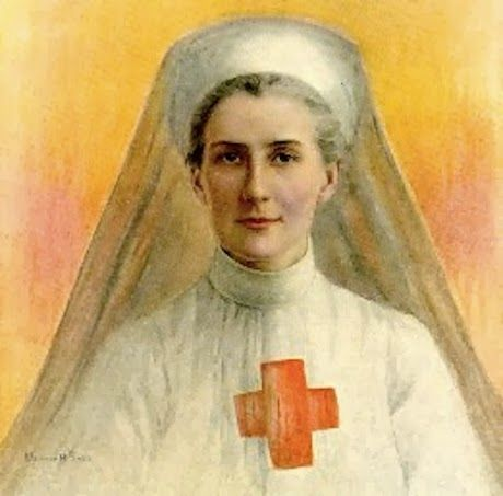 On October 12, 1915, Edith Cavell was executed by the German military for having helped over 200 allied soldiers escape from occupied Belgium. Her death was her last act of heroism and bravery in a long life of public service and personal sacrifice.