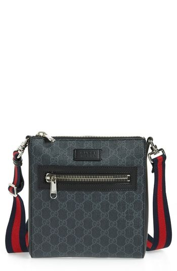 99742d324f0 GUCCI GG SUPREME TRAVEL BAG - NONE.  gucci  bags  shoulder bags  leather