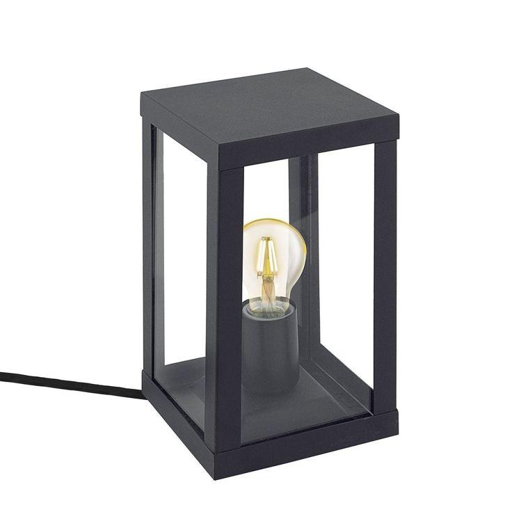 EEK A++, Außenbodenleuchte Alamonte - Glas / Edelstahl - 1-flammig - Schwarz, Eglo Jetzt bestellen unter: https://moebel.ladendirekt.de/lampen/stehlampen/standleuchten/?uid=a32fc7b2-1526-5004-b5f8-54d9ad8d66b1&utm_source=pinterest&utm_medium=pin&utm_campaign=boards #stehlampen #leuchten #lampen #eglo #wege #außenleuchten #pollerleuchten Bild Quelle: home24.de