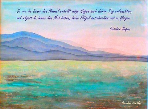 Irischer Segen - Mut zum Fliegen von CarolineLembke