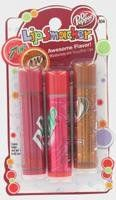 Bonne Bell Lip Smackers Lip Smacker Original Trio -- Dr. Pepper/7-UP by Bonne Bell. $7.49. Recommended for ages 8 and up.. Apply generously to lips as often as you like.. For external use only.. Bonne Bell Lip Smackers Lip Smacker Original Trio -- Dr. Pepper/7-UPTriple the threat with 3 lip glosses in one collection. Give your lips triple the gloss and triple the soda-y flavor while drenching them in a delicious, moisture-rich shine.