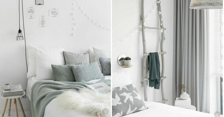 Un dormitorio sereno y natural