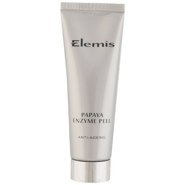 I have been looking for a scrub that isn't harsh on my skin, that doesn't feel abrasive. After a lot of research I came across the Elemis Papaya Enzyme Peel (review)