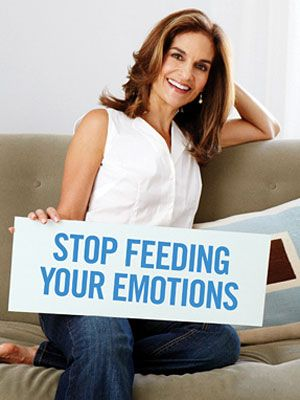 Are you an emotional eater? Nutrition expert Joy Bauer offers great advice on how to stop. #nutrition #health