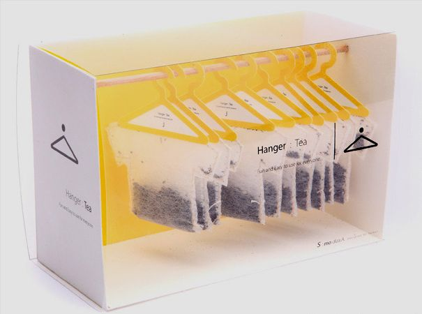 Tea Over 45 Cool Packaging Examples