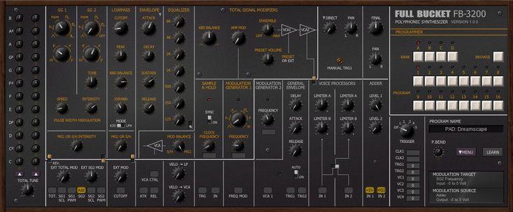 FB3200 PS3200 emulation Synthesizer