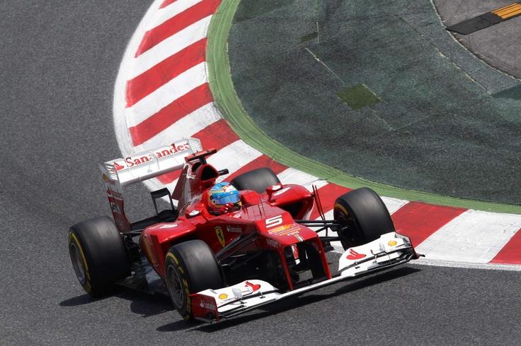 Fernando Alonso, Ferrari F2012  Spanish GP, Circuit de Catalunya - Race. Amb Autoescola BCN els nostres alumnes poden disfrutar del mític Circuit de Catalunya a Montmeló. www.autoescolabcn.com