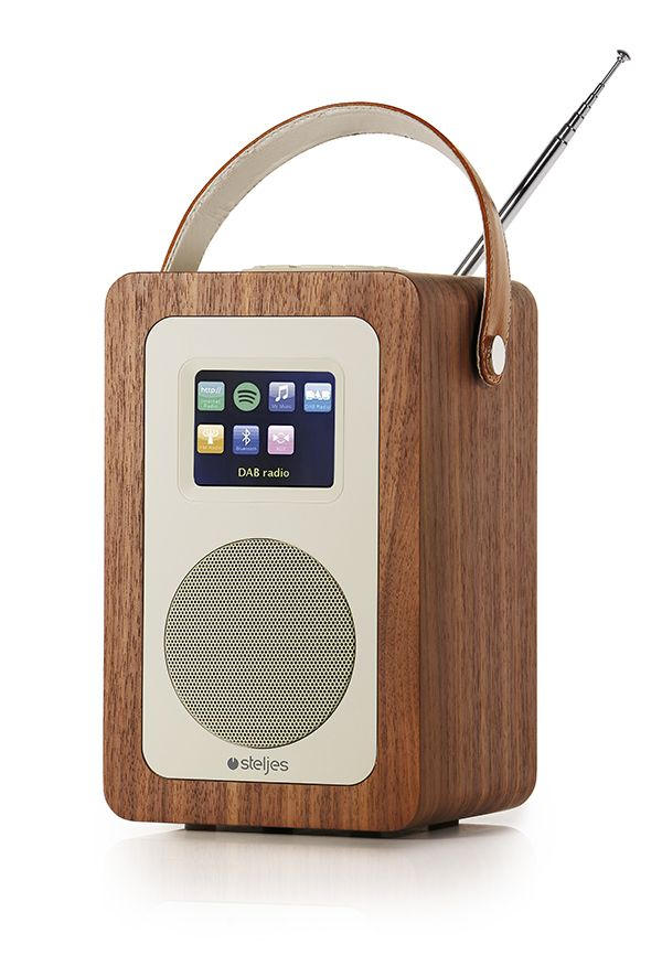 Steljes Audio SA60 Portable Internet DAB+ Radio Bluetooth & WIFI UK