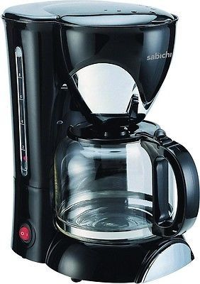 Sabichi #146380 1.25l automatic hot #drink filter #coffee maker machine in black,  View more on the LINK: http://www.zeppy.io/product/gb/2/291853116675/