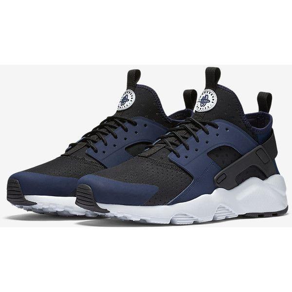 Nike Air Huarache Ultra Men's Shoe. Nike.com (7.765 RUB) ❤ liked on Polyvore featuring men's fashion, men's shoes, mens shoes and nike mens shoes