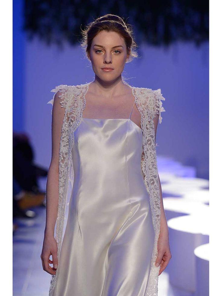 Haute couture silk wedding dress @asaajatha
