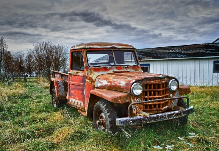 Old Jeep Pickup by Kurt Anno, via 500px
