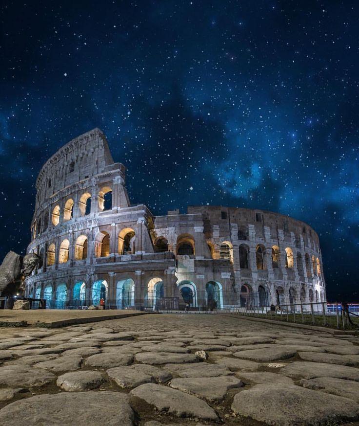 いいね!192.9千件、コメント895件 ― Wonderful Placesさん(@wonderful_places)のInstagramアカウント: 「Colosseum, Rome - Italy ✨💙💙💙✨ Picture by ✨✨@tommy.cimarelli✨✨ . #wonderful_places for a feature 💙」