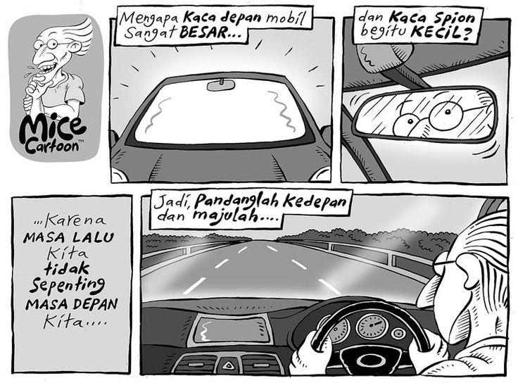 Mice Cartoon, Kompas Minggu - 30 Agustus 2015: Masa Depan