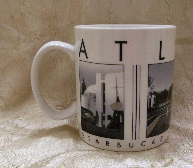Starbucks Atlanta City Scenes Series Coffee Mug Landmark Cup 2003 Barista #Barista
