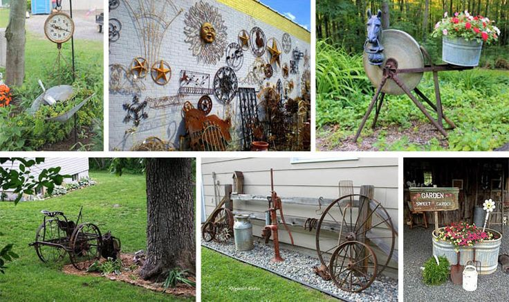 15 Most Amazing Decor Ideas For Gardening With Antiques - The ART in LIFE