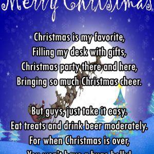 Funny Christmas Limericks for Adults
