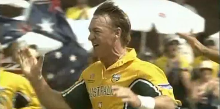 The focus will be solely on the five-day format when England arrive Down Under for the Ashes series, but we can't resist highlighting one of our favourite individual performances by an Australian at the Poms' expense.