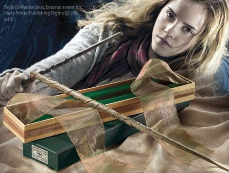 Hermione Granger's Wand with Ollivanders Box Product Detail