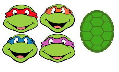 Crafting with Meek: Ninja Turtles SVG