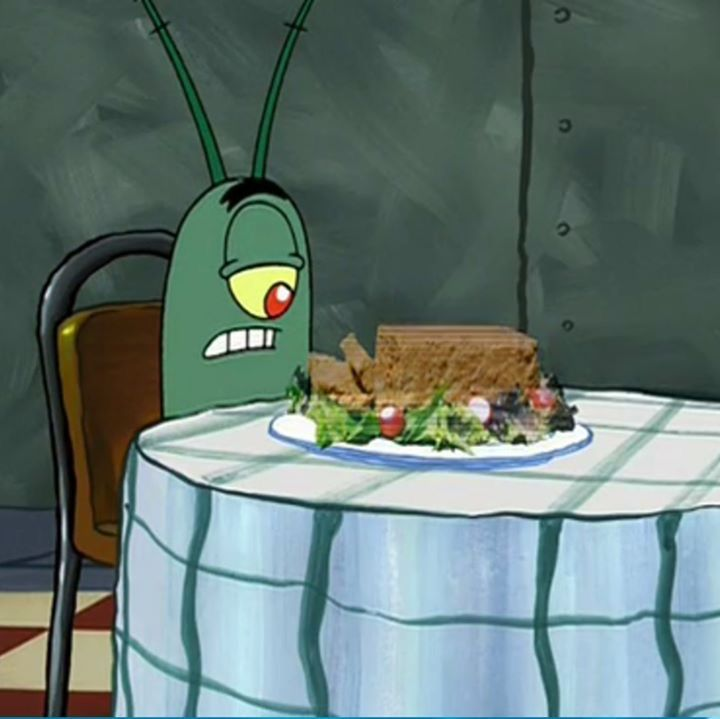Holographic meatloaf... again