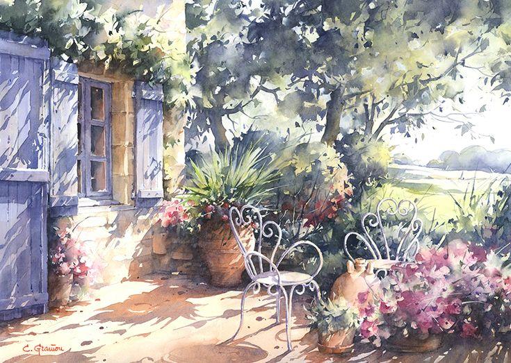Le Salon De Jardin by Christian Graniou