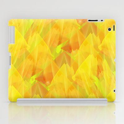 Tulip Fields #106 iPad Case by Gréta Thórsdóttir - $60.00