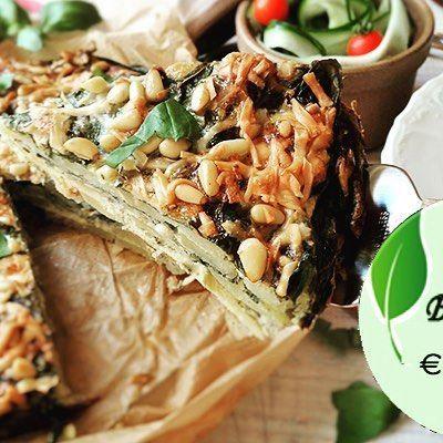 #bio #budget #recept: spinazie-aardappeltaart. Een heerlijk #glutenvrij en #lactosevrij recept met de Hollandse pieper! #gezondeten #gezondevoeding #gezonderecepten #livegreen Ga jij ' dit weekend maken? Hier vindt je het recept: http://www.livegreenmagazine.nl/bio-budgetrecept-spinazie-aardappeltaart/  Credits:SandraFrey