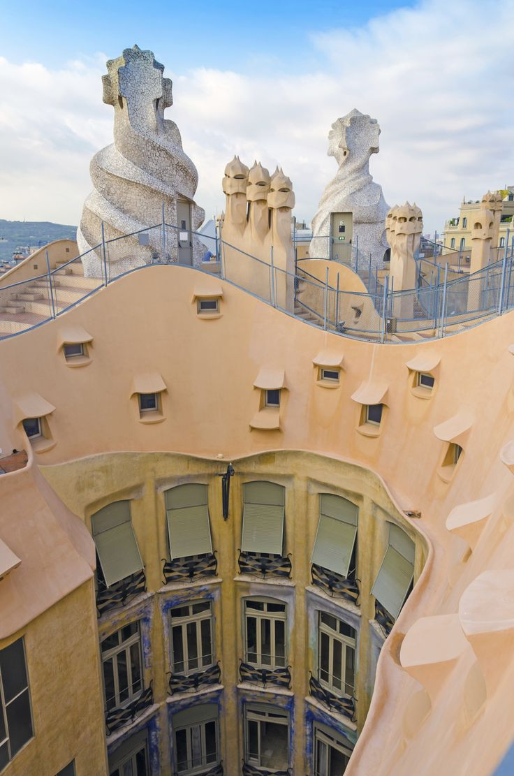 visit la pedrera casa mila one of gaudius many in barcelona