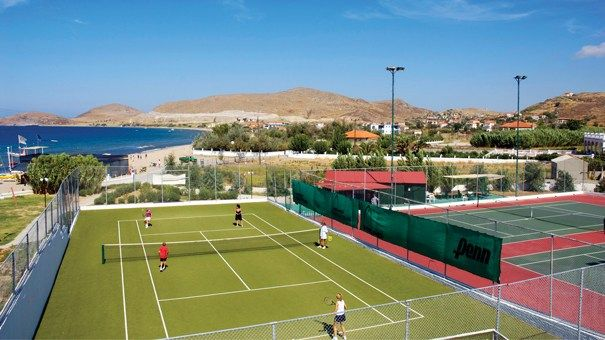 Had some tennis lessons in Lemnos. Was great.