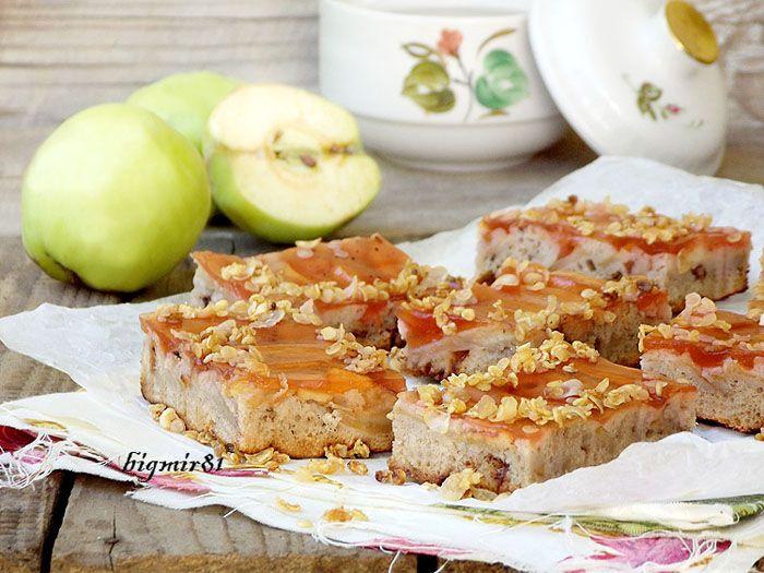 Яблочные пирожные с кукурузными хлопьями - Мой журнал