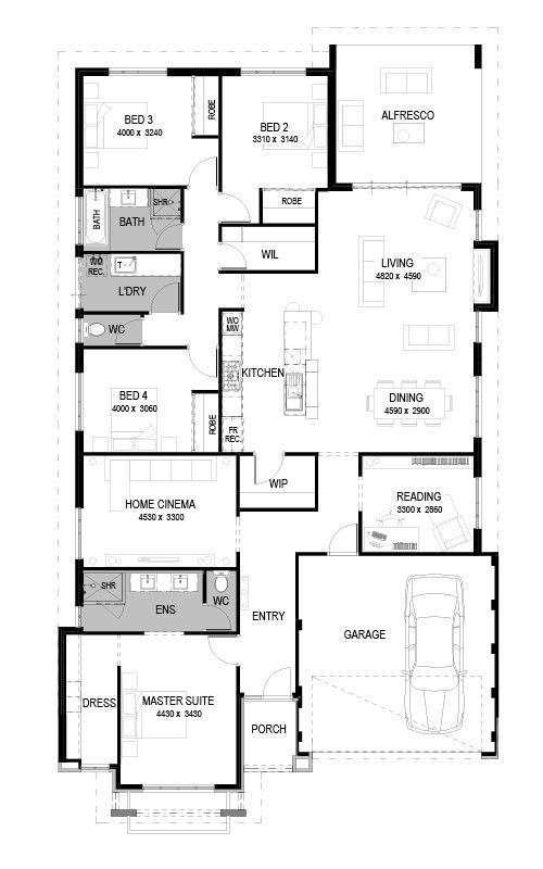 173 best images about decor house plans on pinterest incredible double storey 4 bedroom house designs perth apg