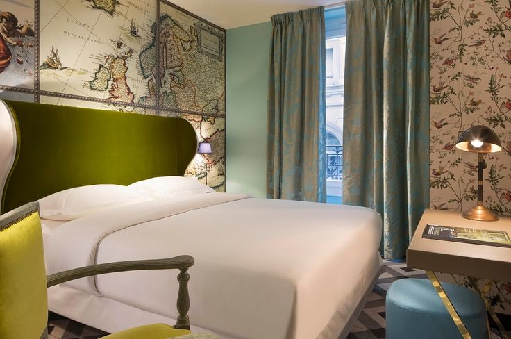 In your opinion, what are the five most irresistible details of the Hotel du Continent? You, too, can make the Continent your port of call and discover its five irresistible details designed by Christian Lacroix!  www.hotelcontinent.com All aboard!  #Boutiquehôtel #Continent #Paris #Christianlacroix #Lacroix #fashion #charming #details #lovely #atmosphere