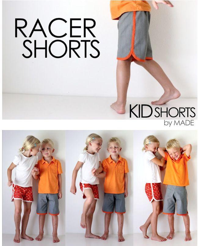Kostenlose Anleitung für Shorts / Kurze Hosen für Kinder