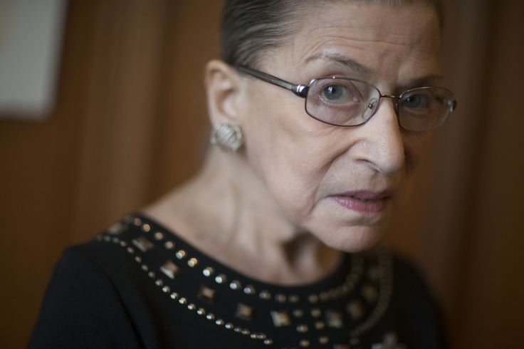 """Justice Ruth Bader Ginsburg ignited a multi-alarm fire with her harsh words for Donald Trump. """"He is a faker,"""" she told CNN legal analyst Joan Biskupic. http://billmoyers.com/story/justice-ginsburgs-gaffe-spoke-truth/ You Leave Our Mom Ruth Bader Ginsburg Alone, You Monster http://theslot.jezebel.com/you-leave-our-mom-ruth-bader-ginsburg-alone-you-monste-1783577722"""