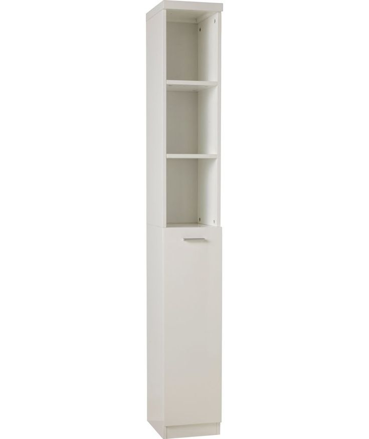 Buy Hygena Tall Boy - White at Argos.co.uk - Your Online Shop for Bathroom shelves and units.