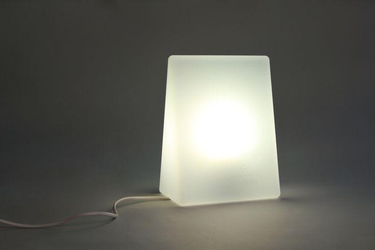 Lamp BOOK that emit light. Design: MAAJO