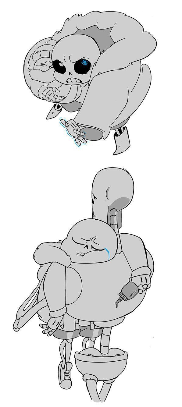 ROLE REVERSAL by ASSORTEDJELLIES--- Ok, I don't know why, or if it's just me, but the young Sans just kills me. WHY?!?