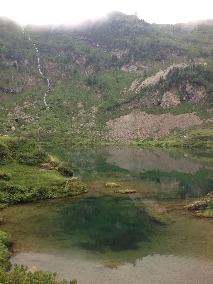 Bethmale à Midi-Pyrénées Etang d'Ayès